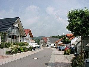 Hochspeyer - Image: Neubaugebiet Pfarracker