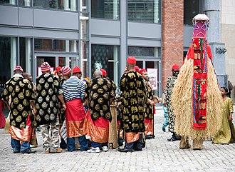 New Yam Festival of the Igbo - Igbos in diaspora celebrating Iwa-Ji in Dublin, Ireland