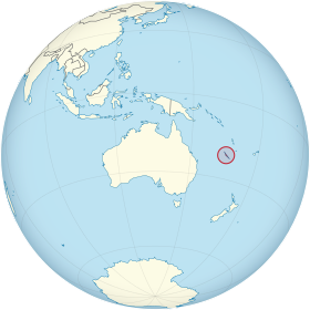 New Caledonia on the globe (Oceania centered).svg
