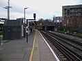 New Cross station northbound mainline platform look south3.JPG