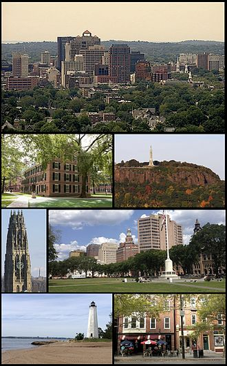 New Haven, Connecticut - Image: New Haven montage 2