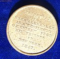"New York. The earliest magician's token of the USA ""Herr Alexander"" EF. Reverse.jpg"