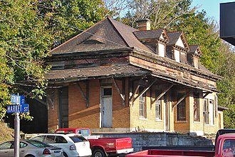 Newport and Shermans Valley Railroad - Depot in Newport