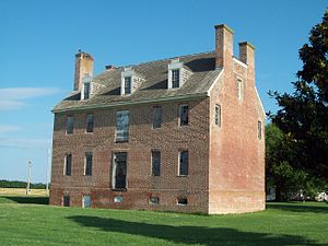 St. Francis Xavier Church and Newtown Manor House Historic District - Image: Newtown Manor House Jul 09