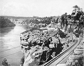 Niagara Gorge Railroad - Image: Niagara Gorge Railroad (1900)