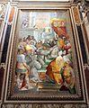 Niccolò circignani detto il pomarancio, approvazione della regola francescana con onorio III, 1583-85, 01.jpg
