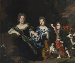 Portrait of a Family in a Landscape