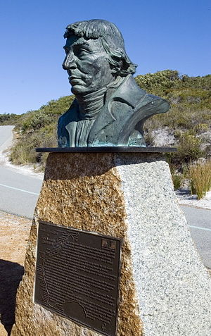 Nicolas Baudin - Nicolas Baudin Monument at Albany, Western Australia