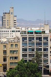 Nicosia Shakolas Tower skyline during daylight Republic of Cyprus.jpg
