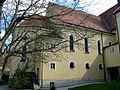 Niederviehbach DominikanerinnenKloster Klosterkirche Aussen Totale.jpg