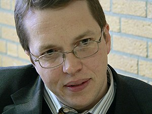 Nigel Short - Short at the 2005 Corus chess tournament