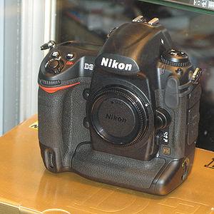 English: Nikon D3