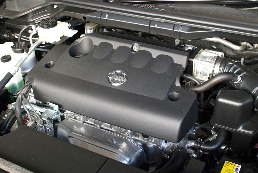 File nissan qr25de engine jpg wikimedia commons for Nissan motor finance login
