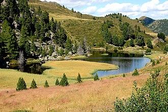 Nock Mountains - Lake Windeben on the Nockalm Road