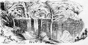 Nohkalikai Falls - Nohkalikai Falls, 1854
