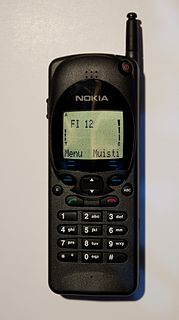 Nokia 2110 cell phone model