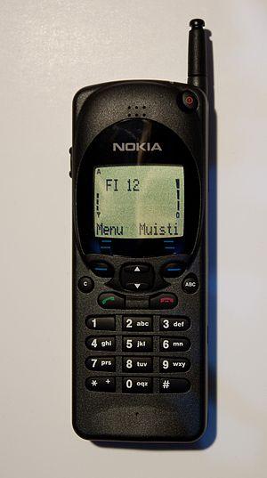 Nokia 2110 - Image: Nokia 2110i NHE 4NX