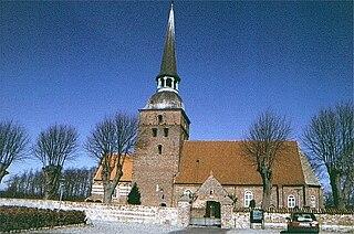 Øster Kippinge Town in Zealand, Denmark