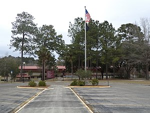 North Florida Community College - Image: North Florida Community College Flagpole and Building 6