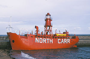 North Carr Lightship - Image: North carr light ship 1988