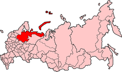 Location of Northern Oblast