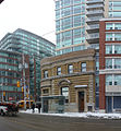 Northeast corner of the intersection of King and Sherbourne, 2014 02 18.jpg