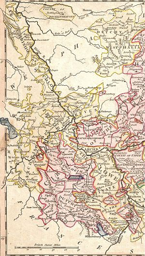 German mediatization - The Rhineland in 1789: The annexation of the entire left bank of the Rhine by the French Republic set in motion the mediatization process