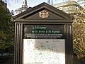 Notice Board, St Anne and St Agnes Lutheran Church, Gresham Street, London EC1 - geograph.org.uk - 1087353.jpg