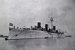 Russian cruiser Novik (1900) - Image: Novik 01