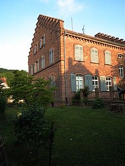Nußloch Treppengiebelhaus