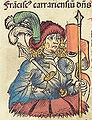 Nuremberg Chronicle f 234v 3 Franciscus carrariensium.jpg