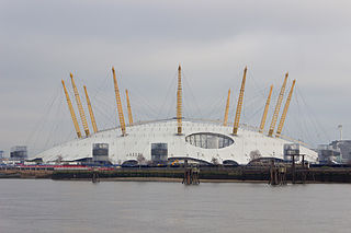 The O<sub>2</sub> Arena Multi-purpose indoor arena located in The O2 in London