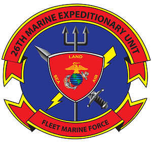 26th Marine Expeditionary Unit - Image: OFFICIAL 26TH MEU LOGO 120228