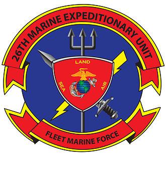 26th Marine Expeditionary Unit - Image: OFFICIAL 26TH MEU LOGO 120228
