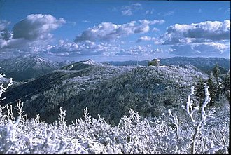 Monterey Institute for Research in Astronomy - The MIRA Bernard M. Oliver Observing Station in winter/