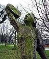 Oak figures, Malone Road roundabout (5) - geograph.org.uk - 697524.jpg
