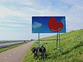 Oan,t Sjen. Einde Friesland.JPG