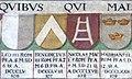 Obernzell Schloss - Festsaal Wappen Papst.6.jpg