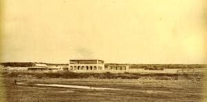 Obock - The French traders settlement and the coal depot in the mid 1880s