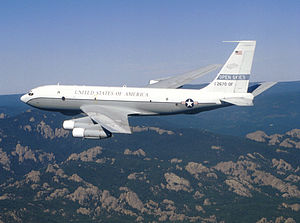 Open skies - Boeing OC-135B Open Skies, United States Air Force observation aircraft supports the Treaty on Open Skies