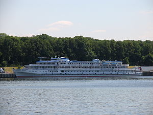 Ocharovannyy Strannik in North River Port 5-jun-2012.JPG