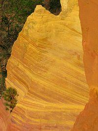 e3315d3b0538 Yellow ochre quarry in Roussillon, France