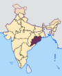 Odisha in India.png