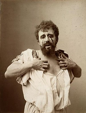 Oedipus Rex - Louis Bouwmeester as Oedipus in a Dutch production of Oedipus Rex, c. 1896.