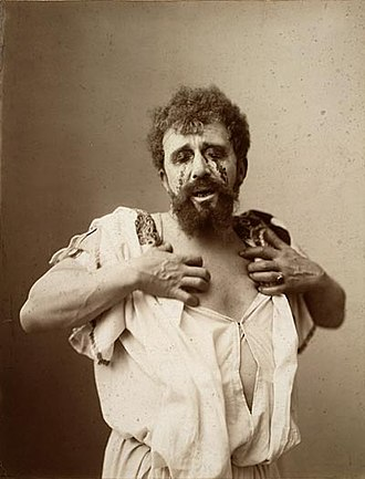 Oedipus Rex - Louis Bouwmeester as Oedipus in a Dutch production of Oedipus Rex, c. 1896