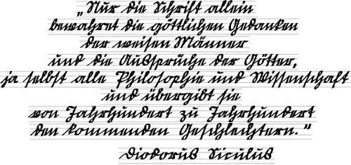Gothic Font Tattoo Designs