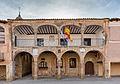 Oficina de turismo, Plaza Mayor, Medinaceli, Soria, España, 2015-12-28, DD 70-72 HDR.JPG