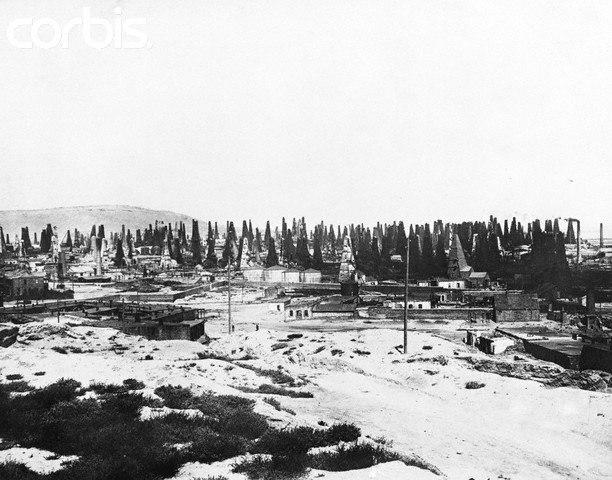Oil Field Baku 1926