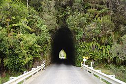 Okau Road tunnel