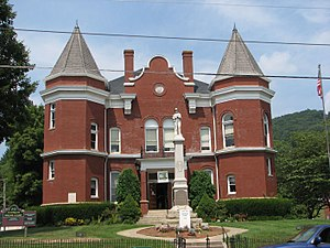 Grayson County, Virginia - The Old Grayson County Courthouse, now used as a museum and site for public events.